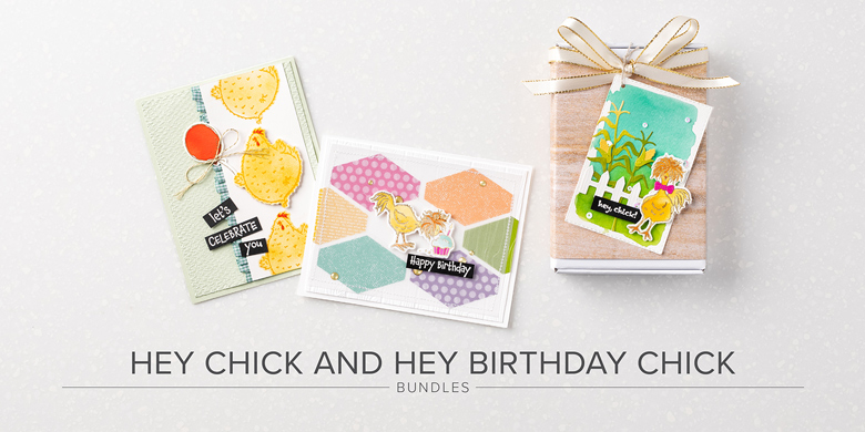 Hey Birthday Chick Co-ordinating Products Release