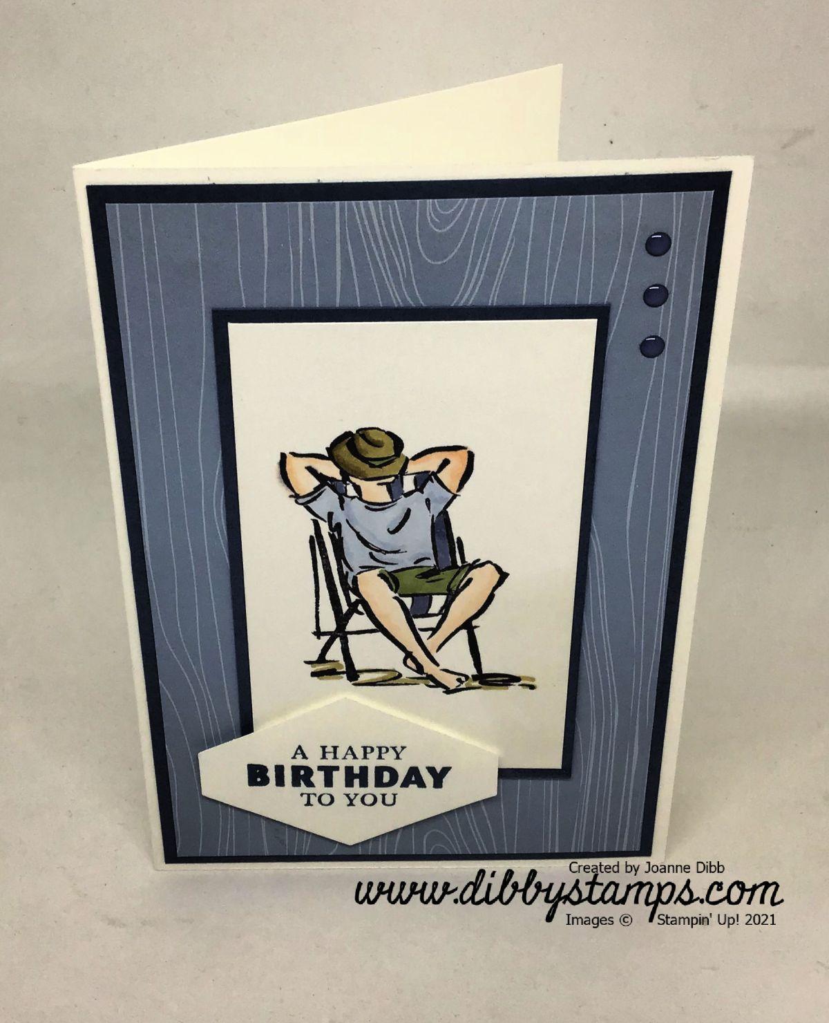 Birthday Card with A GoodMan
