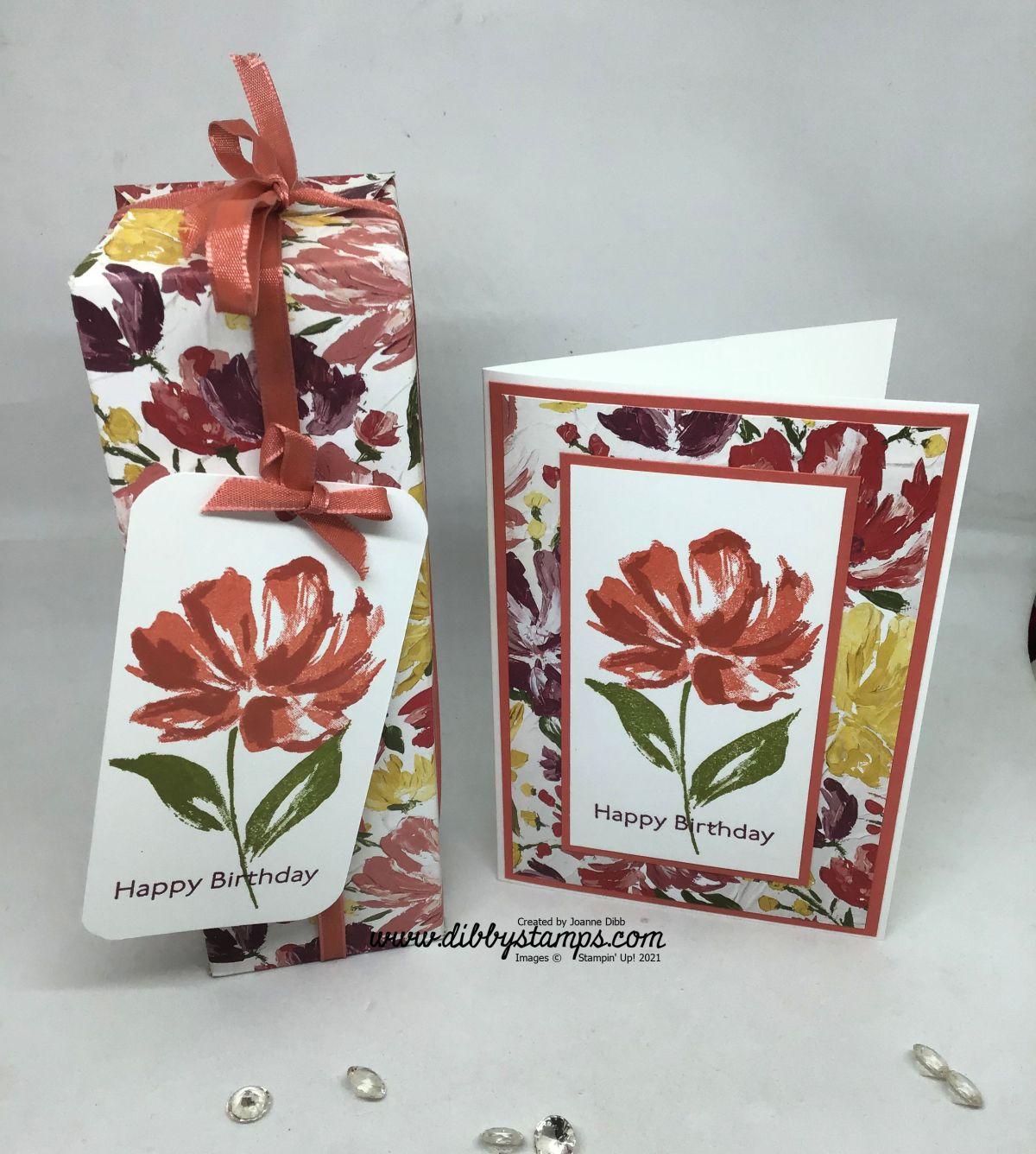 Fine Art Floral Gift Box & CardDuo