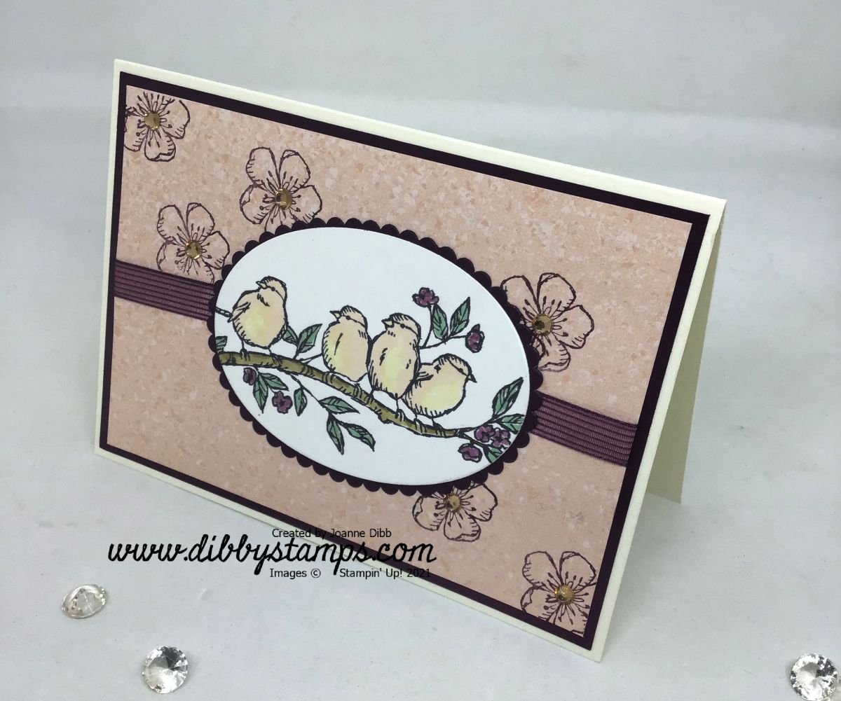 Free As A Bird Oval Card