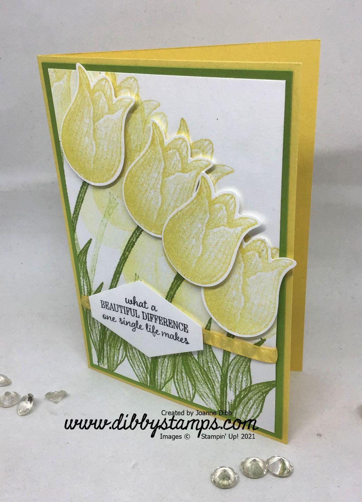 Daffodil Tulips Card