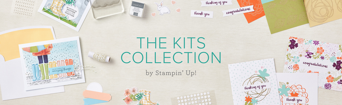 The Kits Collection by Stampin' Up! launchestoday!!
