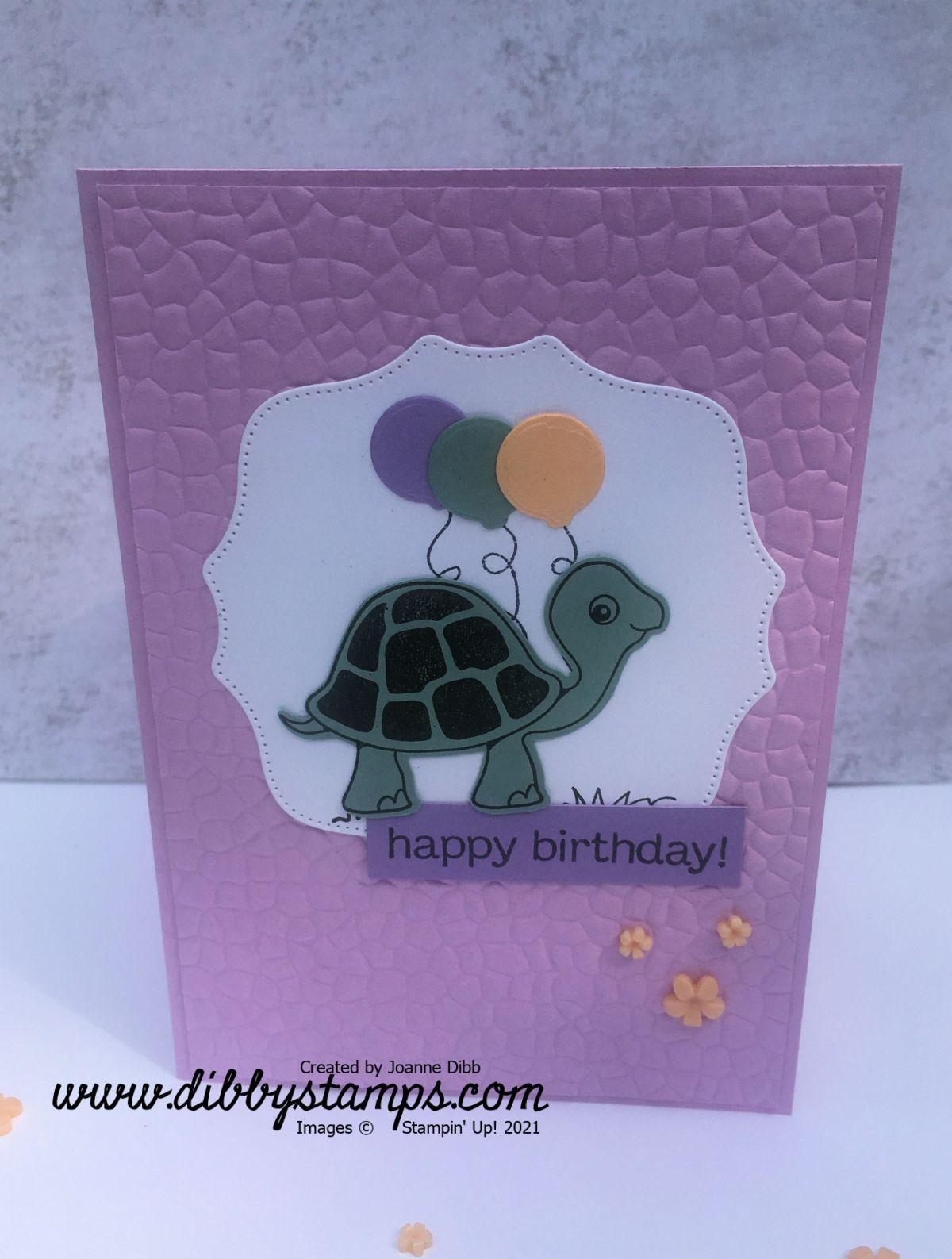 Turtle  Friends BirthdayCard