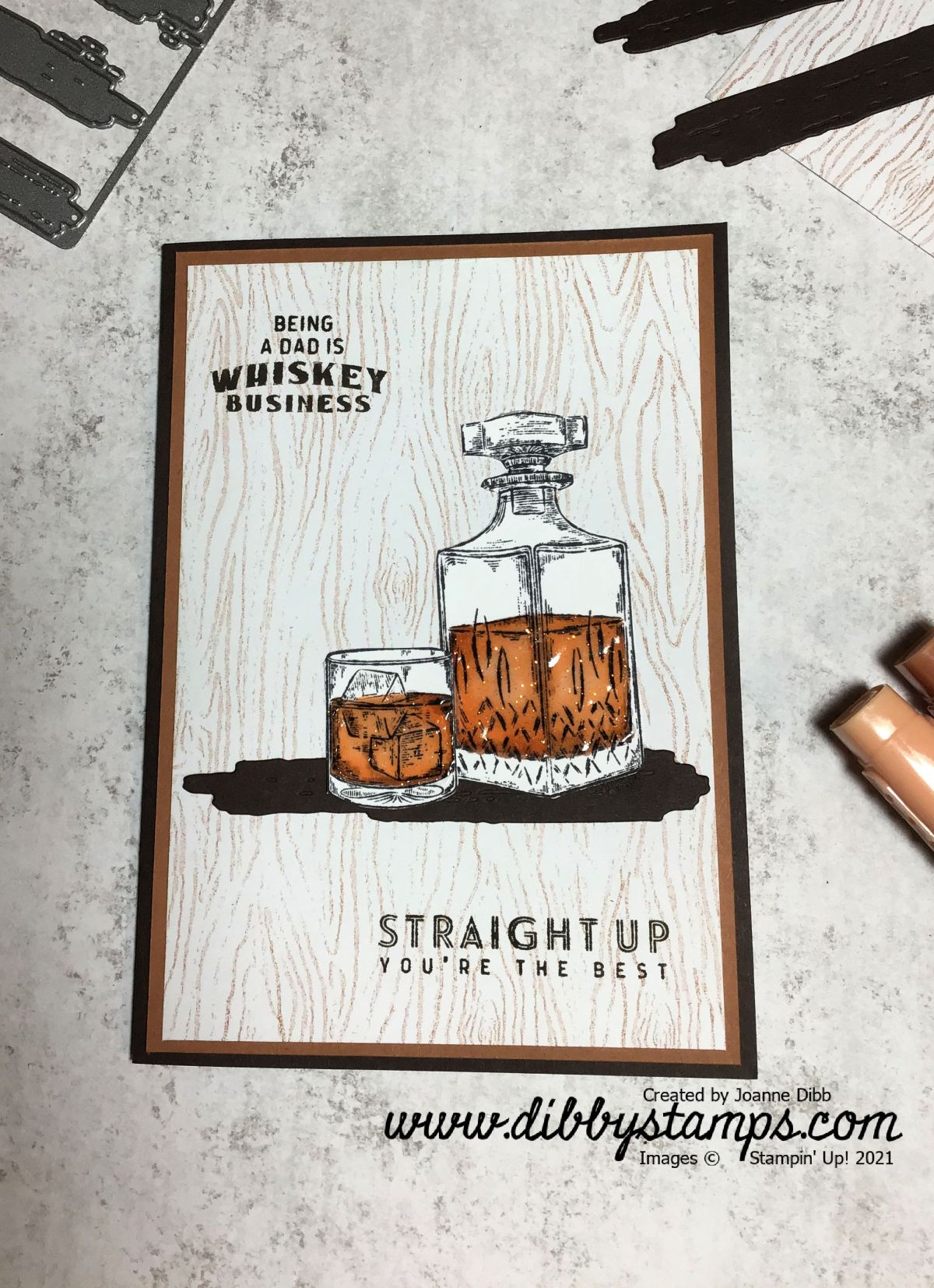 Father's Day Card with WhiskeyBusiness