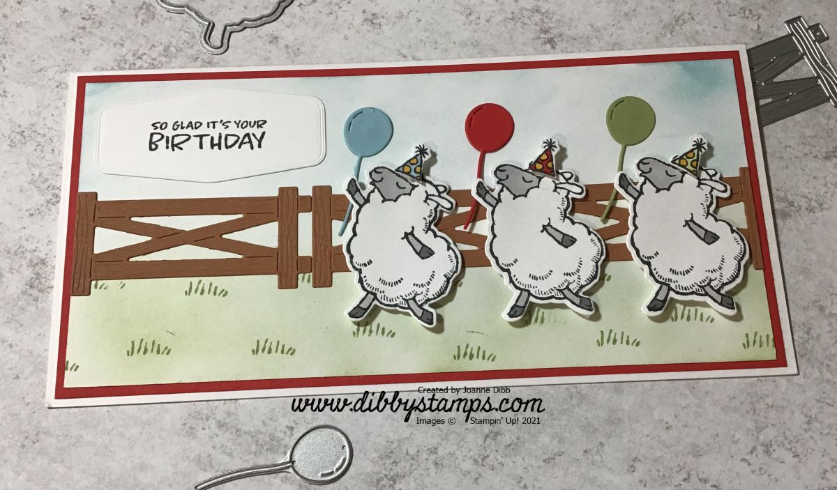 Birthday Sheep TrioCard