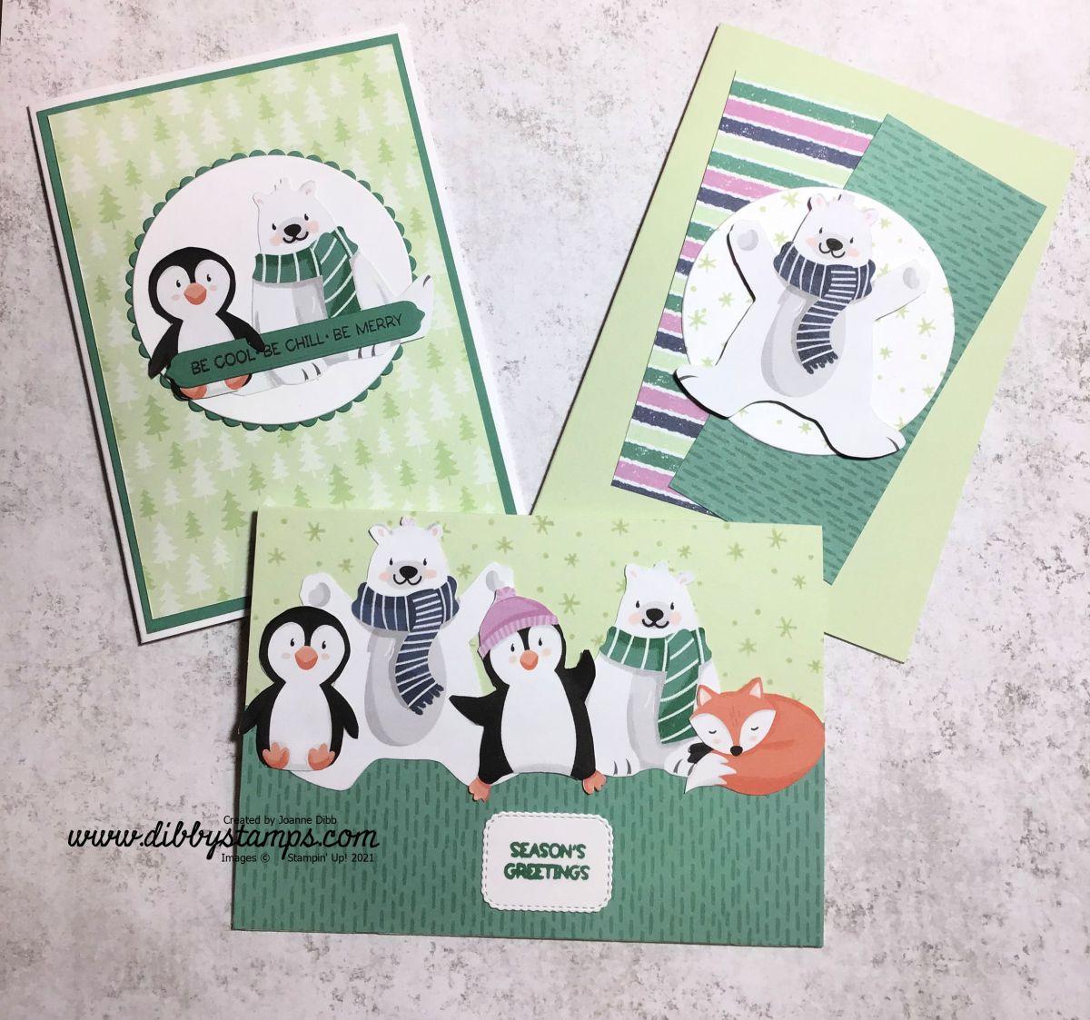 Three Card Thursday: PenguinPlaymates